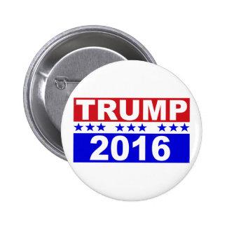 Donald Trump para el presidente 2016 Pin Redondo 5 Cm