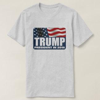 Donald Trump para el presidente 2016 Polera