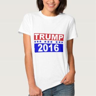Donald Trump para el presidente 2016 Poleras