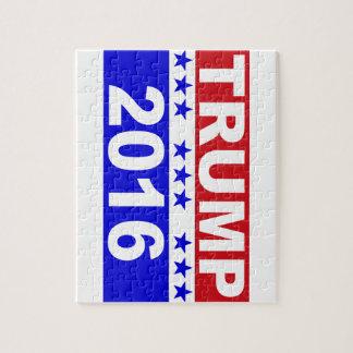 Donald Trump para el presidente 2016 Rompecabeza