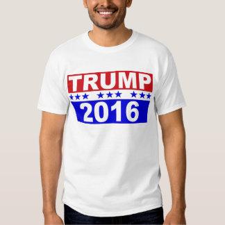 Donald Trump para el presidente 2016 Remera