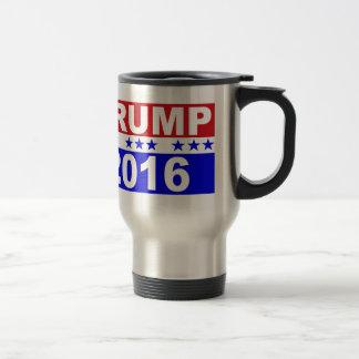 Donald Trump para el presidente 2016 Taza Térmica
