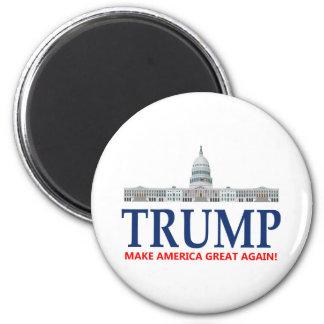 Donald Trump para el presidente Imán Redondo 5 Cm