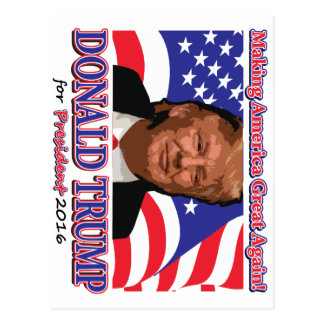 Donald Trump para el presidente Postal