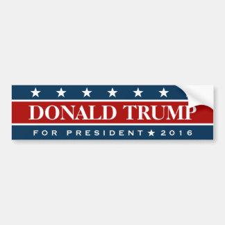 Donald Trump para las estrellas de la bandera del Pegatina Para Auto