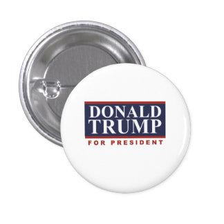 Donald Trump para presidente Campaign Sign 2016 Pin Redondo 2,5 Cm