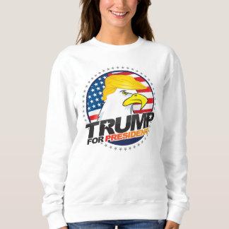 Donald Trump para presidente Eagle Hair Sweater Remera