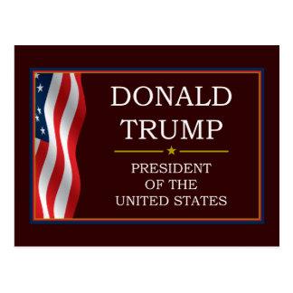Donald Trump para presidente V3 Tarjetas Postales