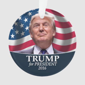 Donald Trump Photo - President 2016 Ornament