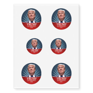 Donald Trump Photo - President 2016 Temporary Tattoos