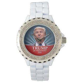 Donald Trump Photo - President 2016 Wrist Watch
