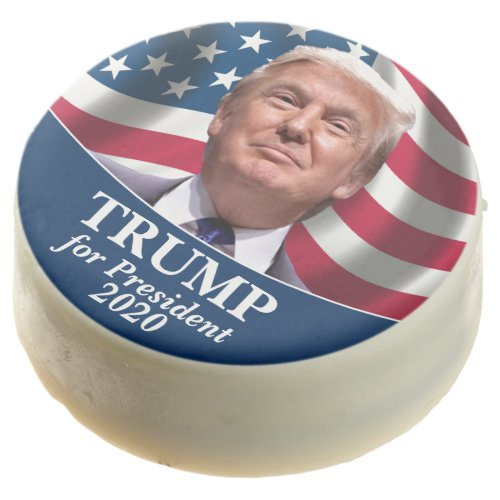 Donald Trump Photo _ President 2020 Classic Chocolate Covered Oreo