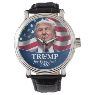 Donald Trump Photo - President 2020 Flag Watch