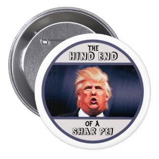 Donald Trump Pin Redondo De 3 Pulgadas