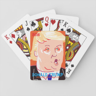 Donald Trump. Playing Cards