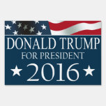 Donald Trump President 2016 American FLAG Lawn Signs