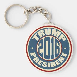 Donald Trump President 2016 Basic Round Button Keychain