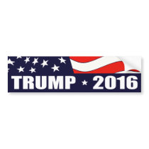 Donald Trump President 2016 Bumper Sticker