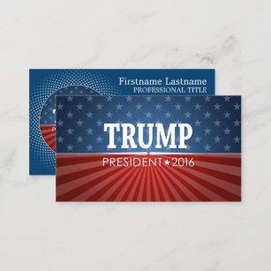 Trump business cards templates zazzle donald trump president 2016 business card colourmoves