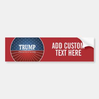 Donald Trump - President 2016 Car Bumper Sticker