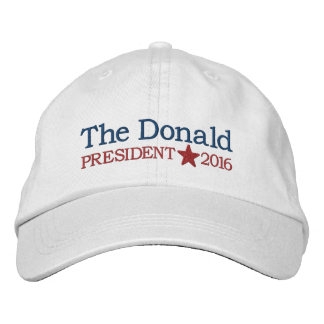 Donald Trump - President 2016 Embroidered Baseball Hat