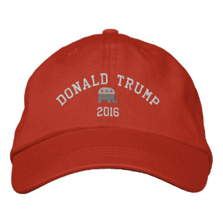 Donald Trump - President 2016 GOP elephant Embroidered Hat