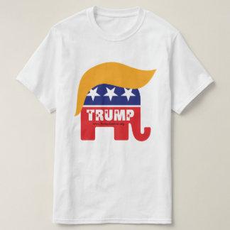 Donald Trump President 2016 GOP Elephant Hair Logo T-Shirt