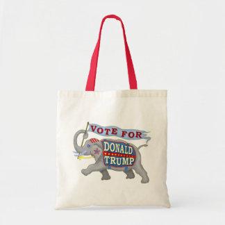 Donald Trump President 2016 Republican Elephant Tote Bag