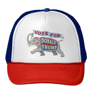 Donald Trump President 2016 Republican Elephant Trucker Hat