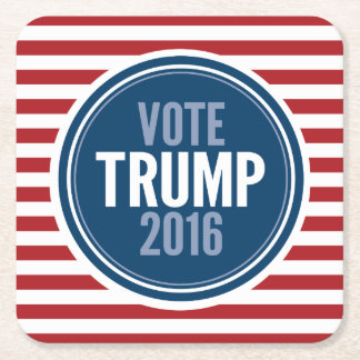 Donald Trump - President 2016 Square Paper Coaster