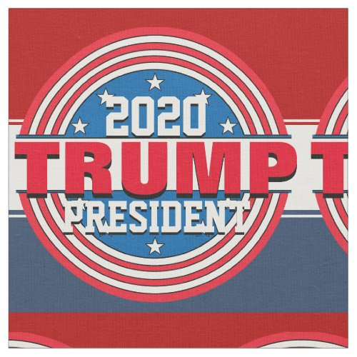 Donald Trump President 2020 Fabric