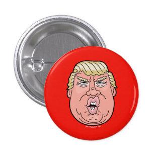 Donald Trump, President Cartoon Button #TrumpTrain
