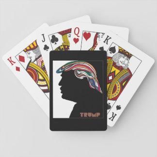 Donald Trump Psychedelic Combover Cards Card Deck