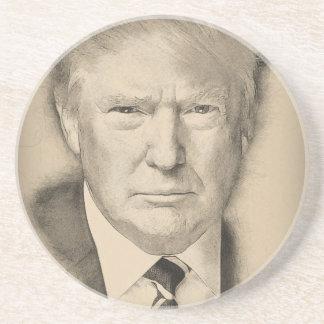 Donald Trump Sandstone Coaster