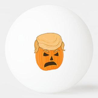 donald trump scowling pumpkin halloween ping pong ball - Halloween Ping Pong Balls