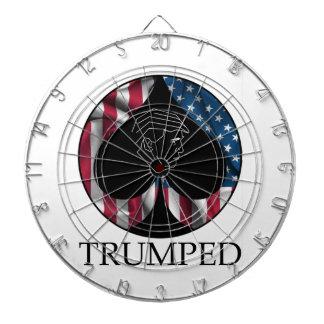 Donald Trump Spade Trumped Dart Board