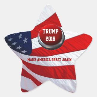 Donald Trump Star Sticker