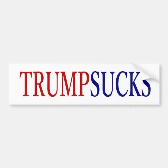 Donald trump sucks president bumper sticker