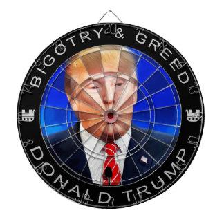Donald Trump - tablero de dardo del fanatismo y de
