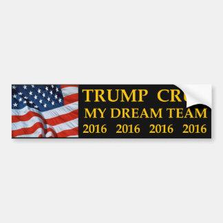 Donald Trump Ted Cruz mi pegatina para el Pegatina Para Auto