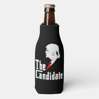 Donald Trump the Candidate Bottle Cooler