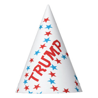 Donald TRUMP Themed Paper Party Hat Party Supplies