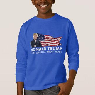 Donald Trump US Flag T-Shirt