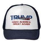 Donald Trump US Flag Trucker Hat