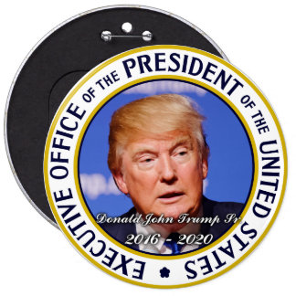 Donald Trump US President Pinback Button