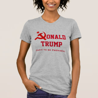 """""""Donald Trump"""" with hammer and sickle T-Shirt"""