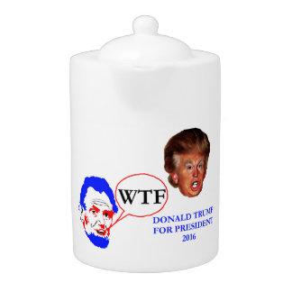 Donald Trump y Lincoln