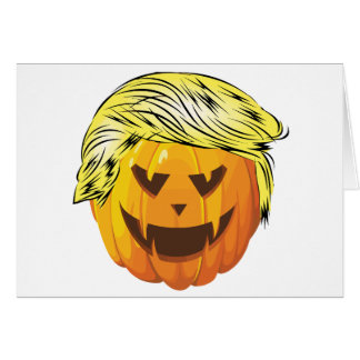 Donald Trumpkin Card
