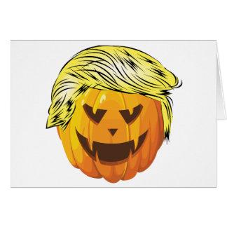 Donald Trumpkin Card