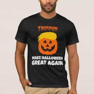 Donald Trumpkin hace Halloween grande otra vez Playera